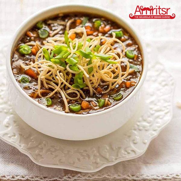Vegetable Manchow Soup in Dubai
