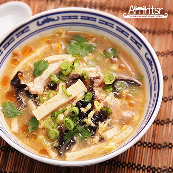 Hot and Sour Soup in Dubai
